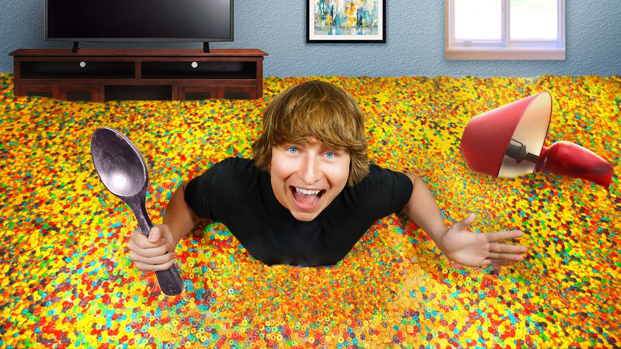 Download I Turned My Bedroom Into A Cereal Bowl!
