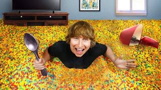 I Turned My Bedŗoom Into A Cereal Bowl!