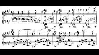 Jean Sibelius - Piano Sonata in F major, Op.12