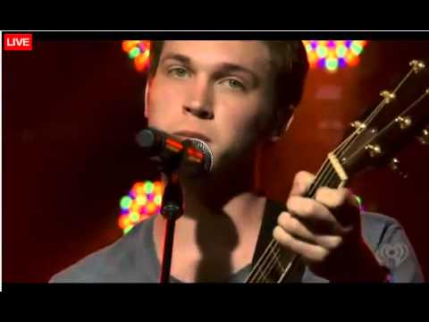 Phillip Phillips Performs 'Volcano' at the iHeartRadio Concert - 8/29/12