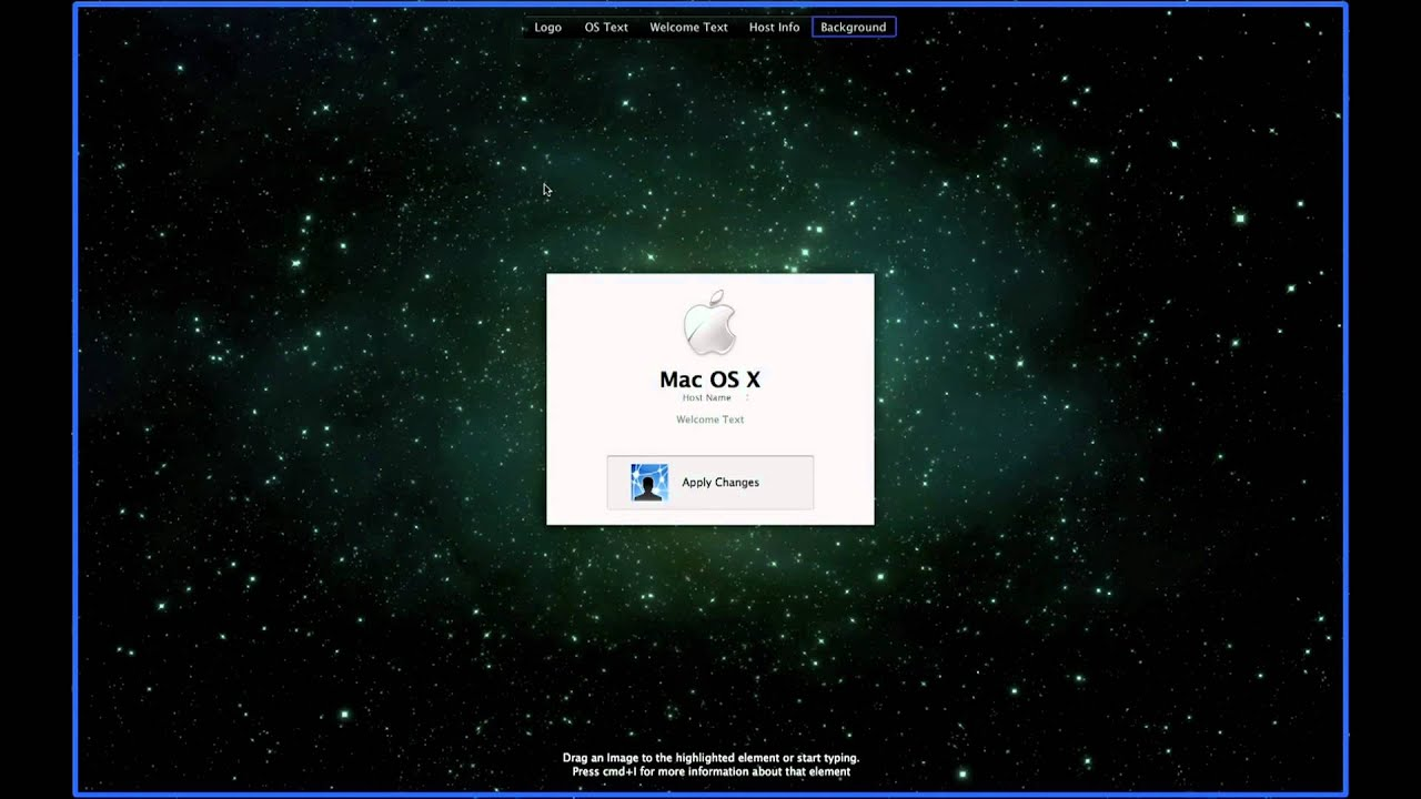how to change the mac login wallpaper youtube