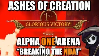 "Ashes Of Creation - ""Breaking the NDA!"" - Twitch Stream Re-uploaded (First Win)"