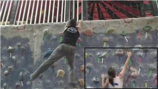 Rock Climbing : Dynamic vs. Static Indoor Rock Climbing Techniques