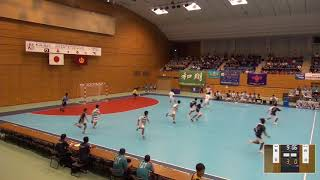 2019年IH ハンドボール 男子 1回戦 新宮(福岡)VS 粉河(和歌山)