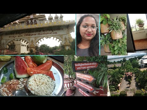 Day 1 in Manthena Satyanarayana Raju gari Arogyalam // full of greenary and healthy food