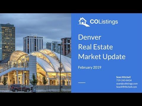 Denver Real Estate Market Update - February 2019 - YouTube