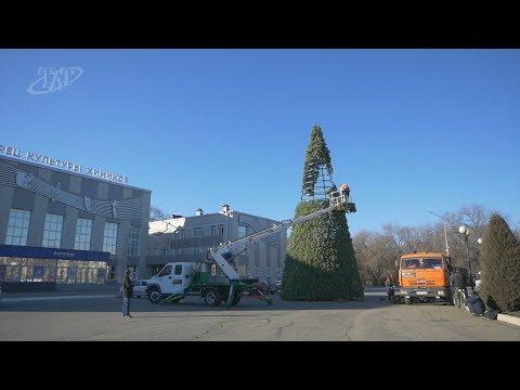 Невинномысск готовится к главному зимнему празднику