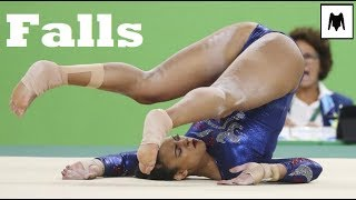 Gymnastics Falls Compilation