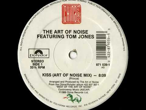 The Art Of Noise Featuring Tom Jes  BATTERY MIX  Kiss Vinyl Rip