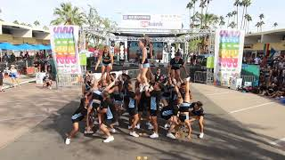 Cheer Los Angeles Stunt Routine at Palm Springs Pride 2018