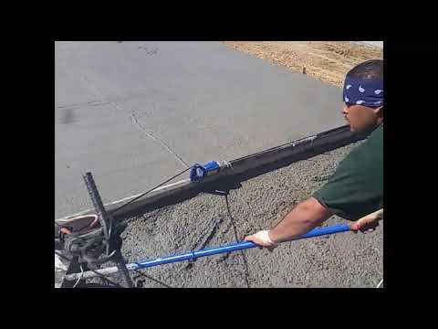 Concrete Roller Screeds By Spinscreed Funnydog Tv