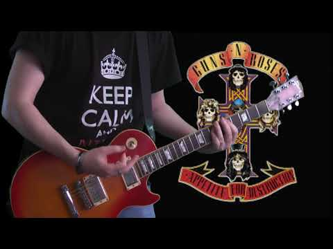 Guns N' Roses - It's So Easy (guitar cover)