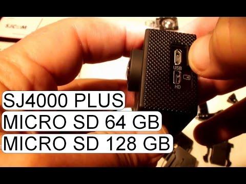 64 128 GB MICRO SD CARD IN SJCAM SJ4000 PLUS 2K