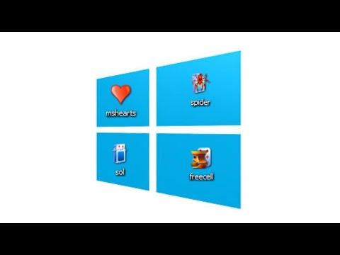 Установка стандартных пасьянс игр на windows 8 и 8.1