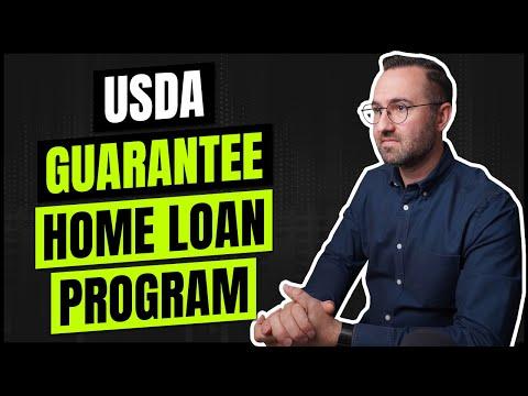 USDA Guarantee Home Loan Program