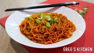 Download Video Gochujang Spicy Ramen Noodles Recipe - Greg's Kitchen MP3 3GP MP4