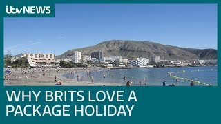 40 years on Brits still love package holidays and Spain is most popular choice| ITV News