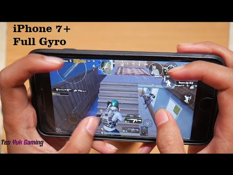 IPhone 7 Plus Test Game PUBG 4 Finger Gyro Always On