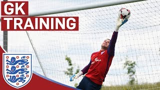 Incredible Reaction Saves from Hart, Pickford and Butland | GK Training | Inside Training