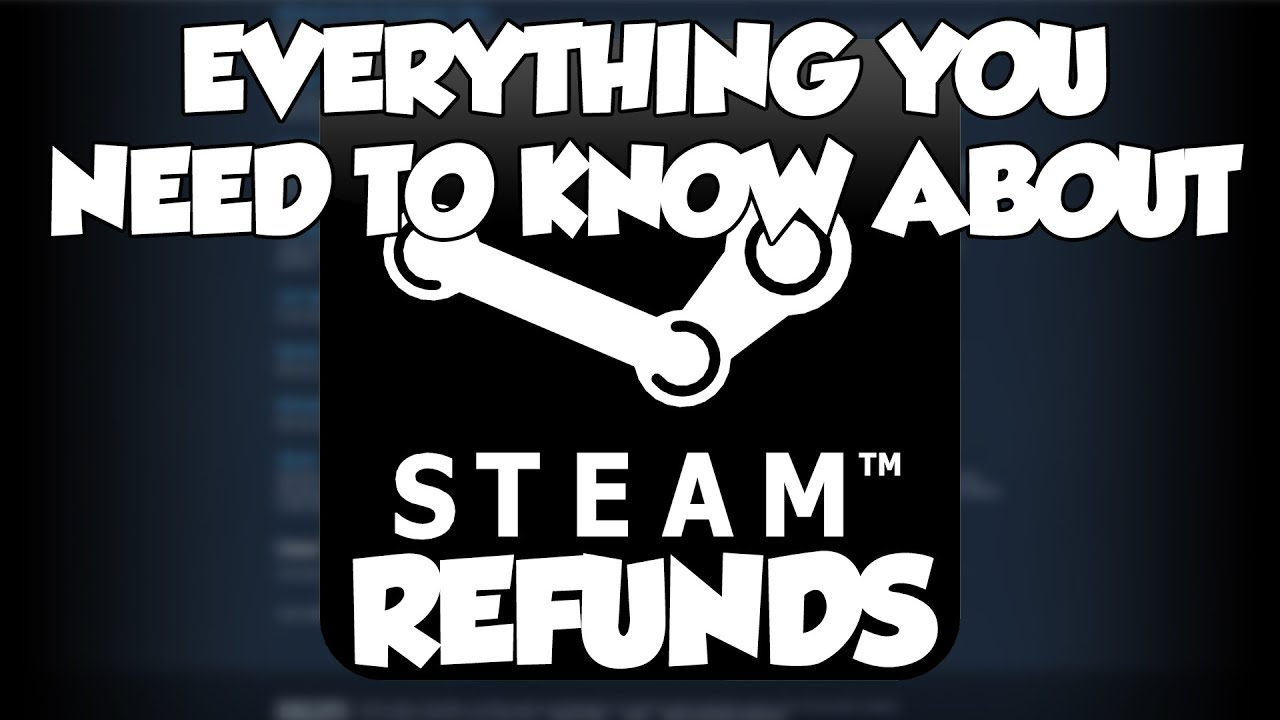 EVERYTHING You Need To Know About STEAM REFUNDS - YouTube