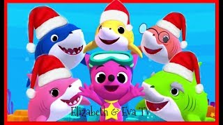 Christmas Baby Sharks | Christmas Carols | PINKFONG Songs for Children and Games kids videos