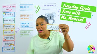 Tuesday 6/30/20 - Preschool Circle Time - Learn at Home