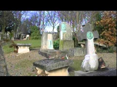 Tombes de francis yard et colette yver au cimeti re de for Foyer colette yver rouen