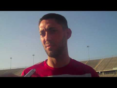 Clint Dempsey Looking Back and Looking Forward
