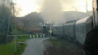 Z okna pociągu retro Tarnów- Tuchów