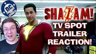 SHAZAM TV Spot Trailer REACTION!