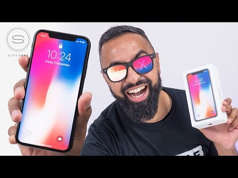 iPhone X UNBOXING Space Gray