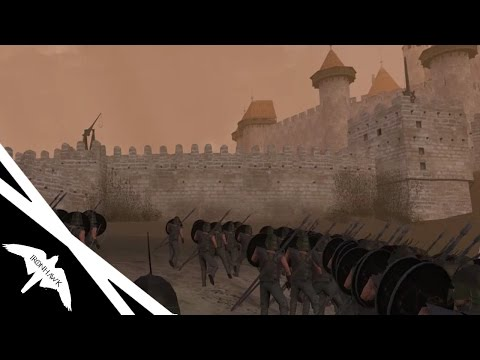1000 Unsullied Siege Kingslanding! - Mount & Blade Warband: Clash of Kings |