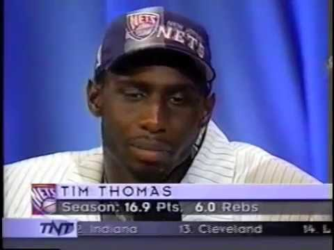 1997 NBA Draft : Tim Thomas (7)