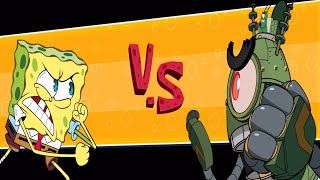 SpongeBob: Patty Pursuit Gameplay Walkthough Part 1 - Bikini Bottom Boss and Secret Level