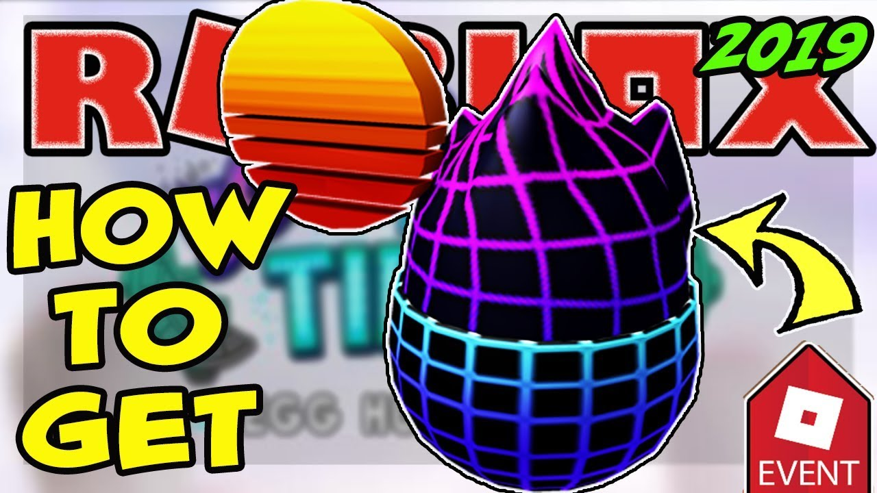 Cyber Hub Roblox - Event How To Get The Retro Egg Roblox Egg Hunt 2019 Scrambled In Time