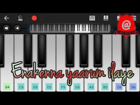How to play Enakenna yaarum ilaye on keyboard