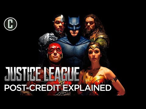 Justice League Post-Credit Scenes Explained