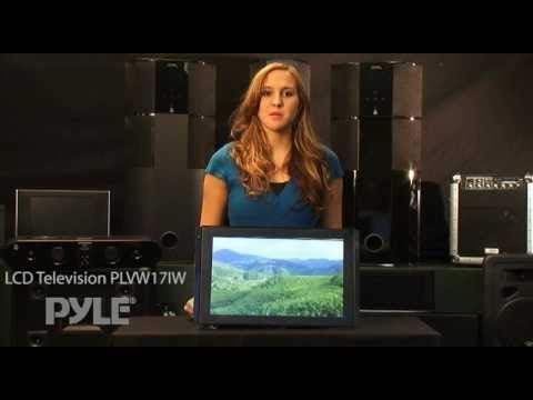 Pyle PLVW17IW 17'' In-Wall Mount TFT LCD Flat Panel Monitor For Home & Mobile Use W/VGA & RCA Inputs