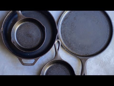 How to Clean & Season Cast Iron Pans