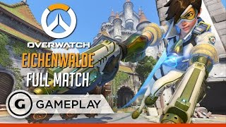 Full Match on Eichenwalde - Overwatch Gameplay