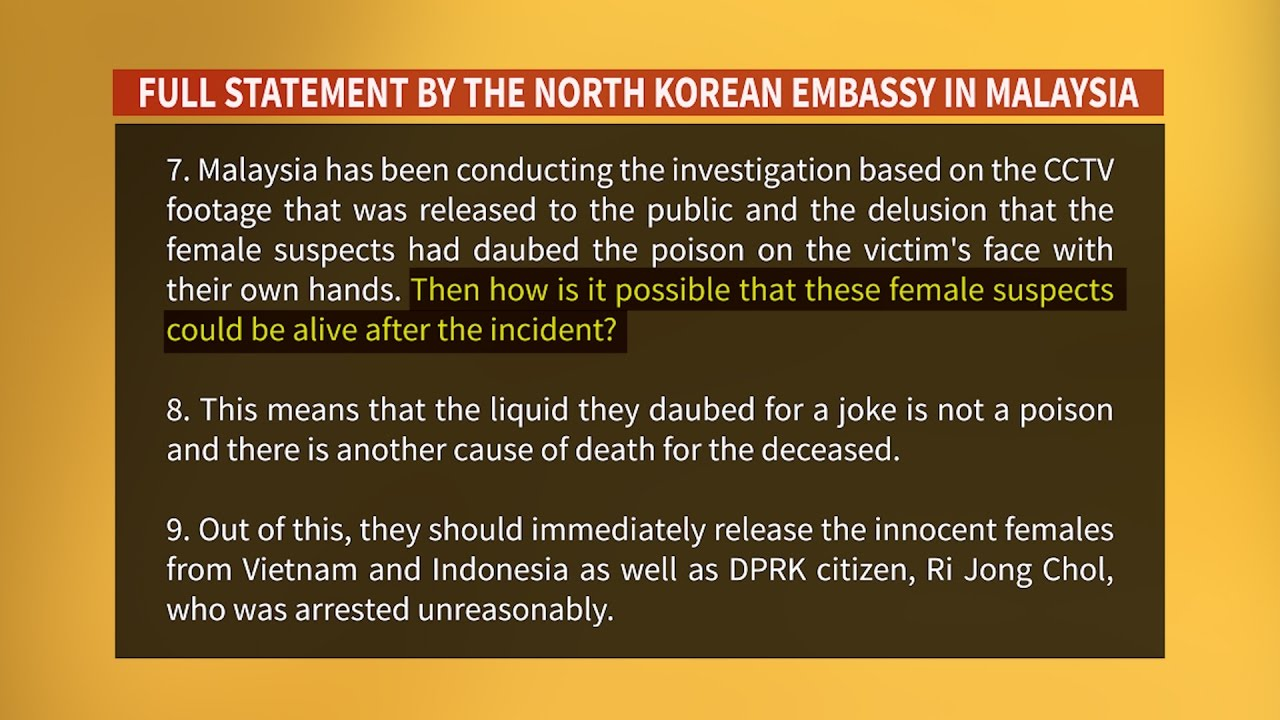 North Korea continues to trash police investigation