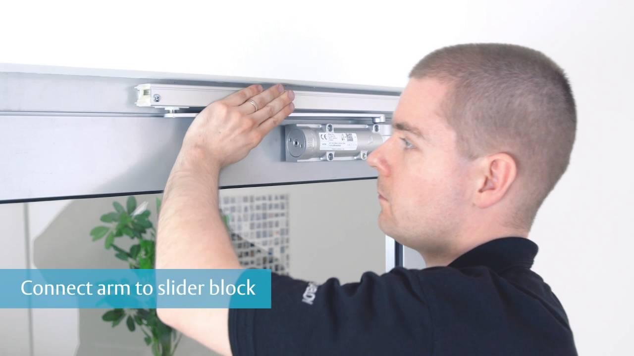 Assa Abloy Dc700g E Door Closer Installation Guide Youtube