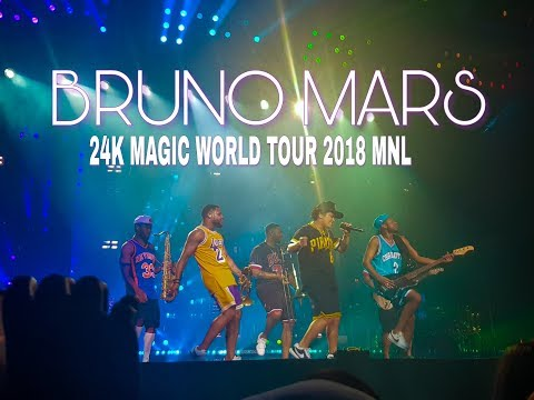 My VIP experience - Bruno Mars 24k Magic World Tour 2018 Manila (FULL CONCERT) | Random Vlogs