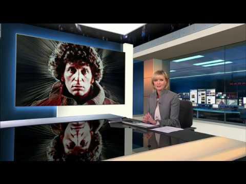 Tom Baker interview, SHADA: ITV News at Ten 24-11-2017