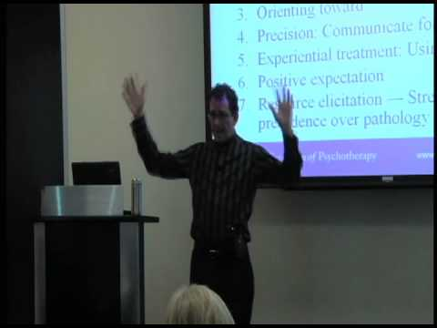 "Dr. Jeffrey Zeig presents ""Ericksonian Psychotherapy & Hypnotherapy"""