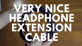 A Very Nice Headphone Extension Cable 🎧