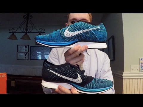 finest selection 18ab6 c5354 Unboxing Nike Flyknit Racer