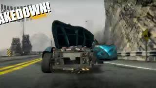 Burnout Paradise: The Ultimate Box - Road Rage Gameplay / Takedowns with Jansen P12. (PC)
