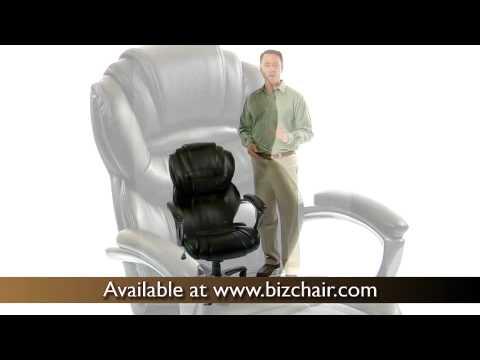Black Leather Executive Office Chair (GO 901 BK GG). BizChair