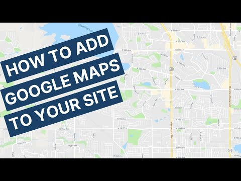 How to add Google Maps to your Contact us Page